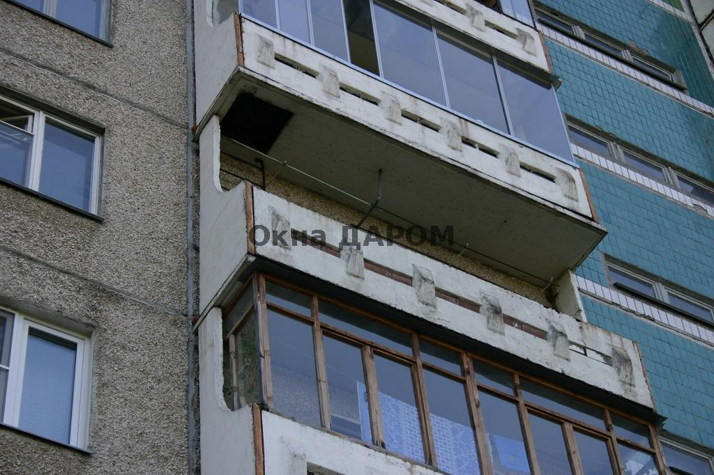 Остекление балкона с выносом солнеЧнаЯ 70.
