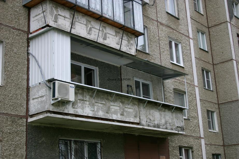 Остекление балкона с выносом прспект победы 380а.
