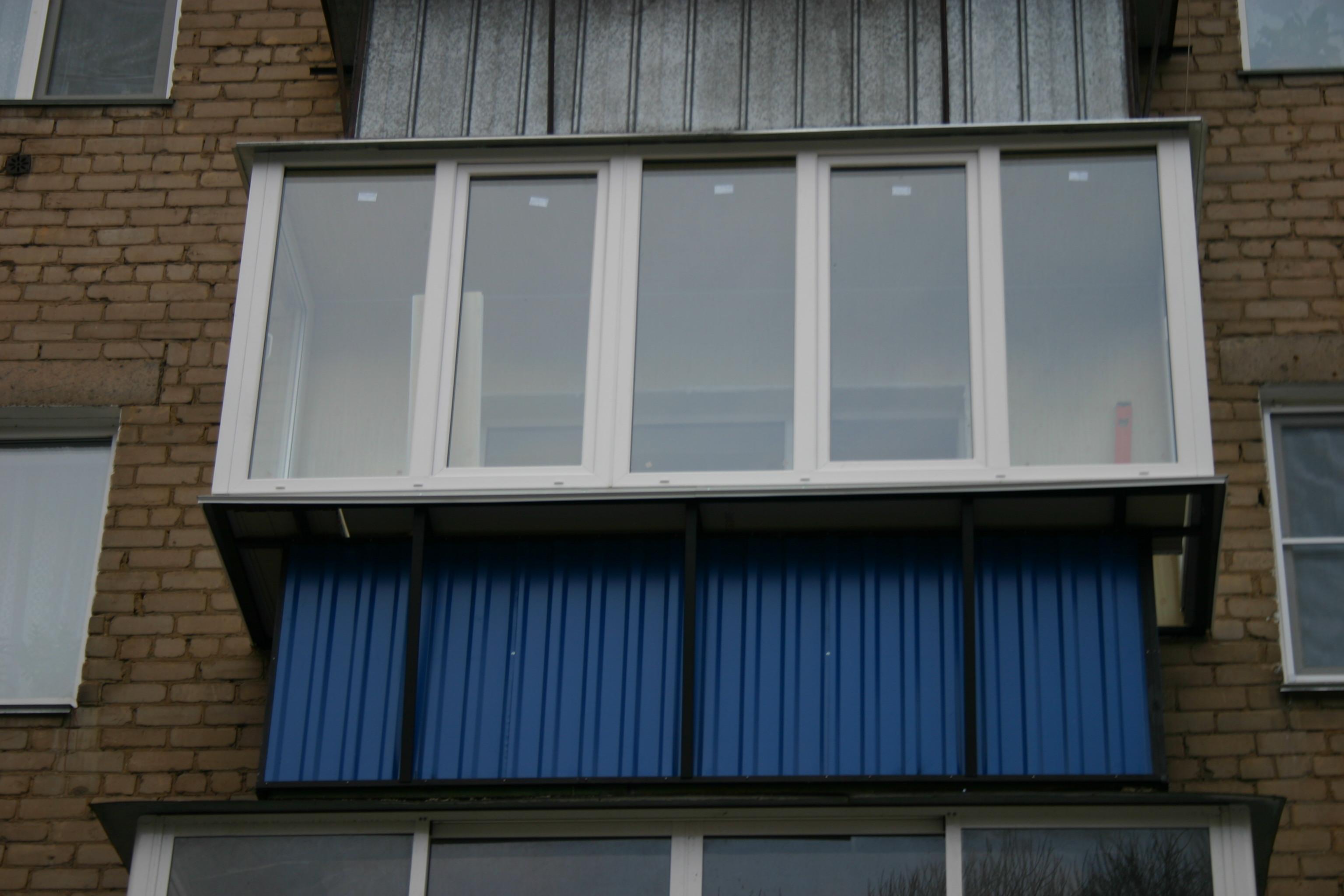 Остекление балкона по арматурный переулок 10.